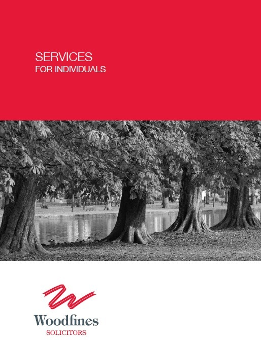 Services for Individuals Brochure