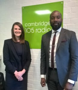 Alice Wooler | Woodines Solicitors | Cambridge 105 Radio Podcast